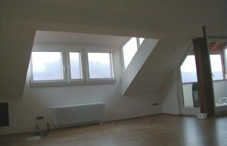 Ausbau Dachgeschoss Laufenburg