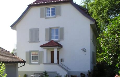 Fassadenanstrich Farbgestaltung Murg