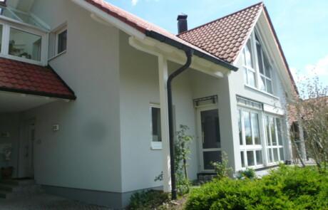 Fassadenanstrich Farbgestaltung Rippolingen