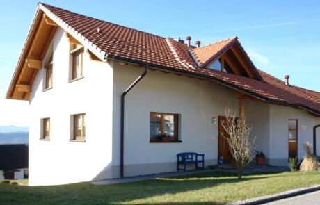 Neubau Niederhof Wärmedämmung Innenputz
