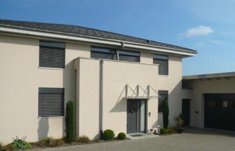 Neubau Wohnhaus Innenputz Wärmedämmung Hänner