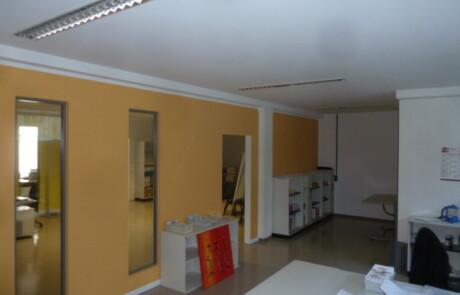 Raumteilung Büro