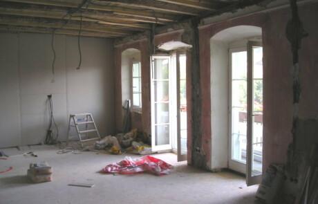 Renovierung Altstadthaus Laufenburg