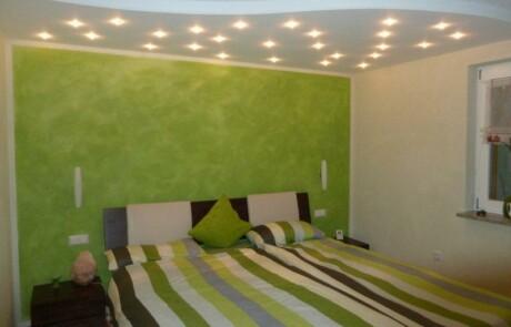 Renovierung Schlafzimmer Sternenhimmel Farbgestaltung Niederhof