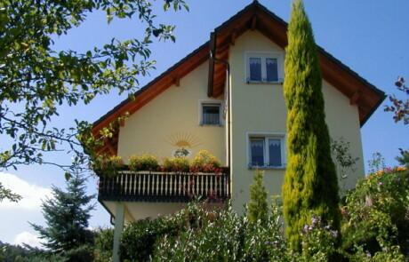 Sanierung Fassade Farbgestaltung Murg