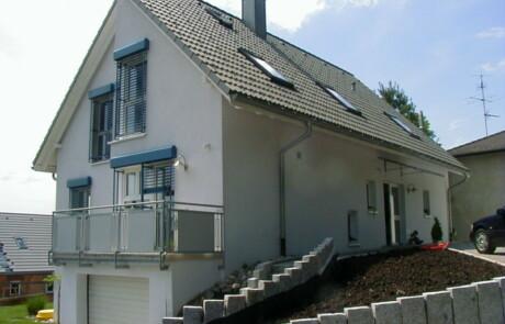Sanierung Wärmedämmung Innenputz Gestaltung Bad Säckingen