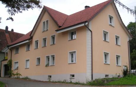 Sanierung Wohnhaus Wärmedämmung Gestaltung Laufenburg