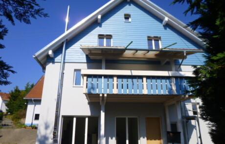 Sanierung Wohnhaus Wärmedämmung Oberhof