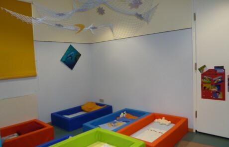 Schlafraum Kindergarten