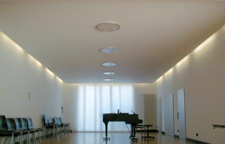 Waldshut Akustikdecken Trennwände Lichtelemente